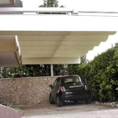 ombrellone giardino copri auto garage grandine
