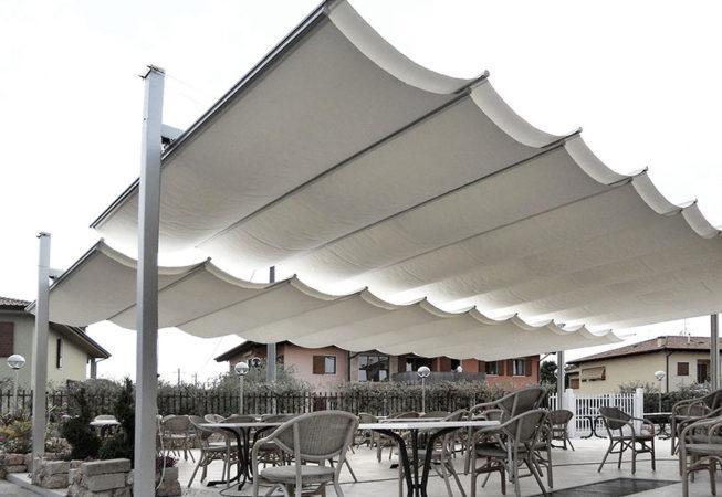 ombrellone pergola dehors maxi ristorante